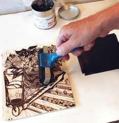 How to make a woodcut.  Find out how Rod Nelson made a delicate Japanese-style print