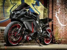Carbon Fiber Accessories, Cases, and Jewelry Suzuki Bikes, Suzuki Motorcycle, Moto Bike, Suzuki Gsx, Custom Street Bikes, Custom Sport Bikes, Bike Equipment, Yamaha Motor, Riding Gear