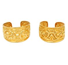 FD GALLERY | Rare & Vintage | A Pair of Gold Cuff Bracelets, by Ilias Lalaounis