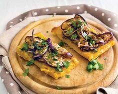 Torta di ceci con melanzane grigliate | Ricetta e Cucina Hummus, Tacos, Ethnic Recipes, Food, Vegetarian, Essen, Meals, Yemek, Eten