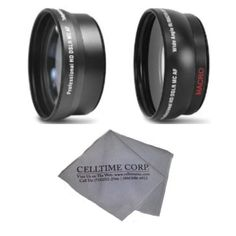 72MM 2.2x Telephoto and 0.43X Wide Angle High Definition Lenses for CANON DSLR (T2i T3 T3i T4i T5i SL1 60D 7D 5D Mark II 5D Mark III 6D) + Celltime Lens Cleaning Cloth - http://slrscameras.everythingreviews.net/9594/72mm-2-2x-telephoto-and-0-43x-wide-angle-high-definition-lenses-for-canon-dslr-t2i-t3-t3i-t4i-t5i-sl1-60d-7d-5d-mark-ii-5d-mark-iii-6d-celltime-lens-cleaning-cloth.html