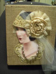 love this vintage bride