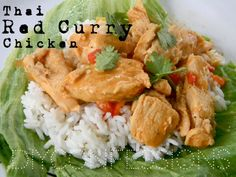 Crock Pot Monday {{Thai Red Curry Chicken}} « {DIYconfessions}