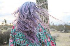 Mermaid hair 💜 @katevaladez