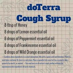 Doterra cough syrup