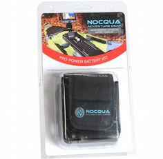 The Nocqua Pro Power Pack packaging is getting an update in 2016. Fish Finder, Fish Camp, Kayak Fishing, Kayaks, Gopro, Canoe, Surfing, Gopro Camera, Kayaking