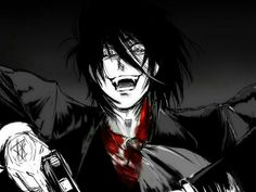 Manga Anime, Anime Art, Near Dark, Hellsing Alucard, Animated Man, Black Panther Marvel, Handsome Anime Guys, Fanart, Naruhina