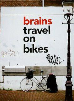 Brains Travel on Bikes :)