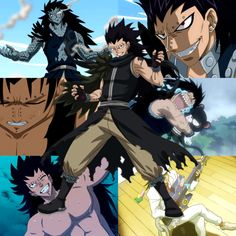 Gajeel Redfox from Fairy Tail