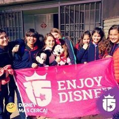 El #promoTeam2016 estuvo con las chicas de Natividad del Señor! Cada día más cerca de #Disney!