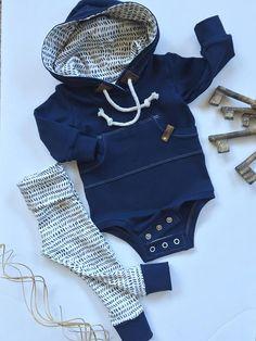 Baby hoodie baby sweatshirt gender neutral hoodie bodysuit