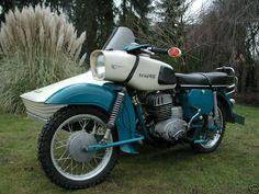 1973 MZ 175 Trophy w/ sidecar Vintage Motorcycles, Cars And Motorcycles, Mz Es 250, Classic Bikes, Old Models, Motorbikes, Harley Davidson, Engineering, Bicycle