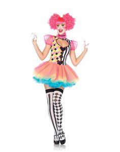 Sweet Heart Harlequin Adult Womens Costume