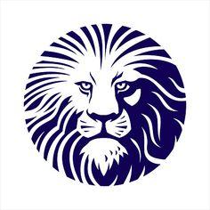 Lion Head , Lion Icon, Lion symbol Lion Icon, Maori Symbols, Symbolic Art, Lion Tattoo Design, Lion Logo, Eagle Logo, Dark Tattoo, Graphic Design Print, Tattoo Sleeve Designs