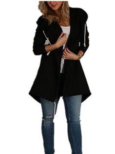 Yonala Womens Long Sleeve Outwear Jacket Lapel Button Solid Faux Shearling Warm Winter Coats