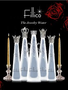 Fillico Jewelry Water Encrusted With Swarovski Crystals
