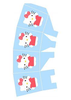 Caixinha para guloseimas da Hello Kitty - Dicas pra Mamãe
