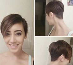 short and soft pixie