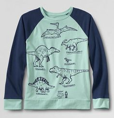 Cool career t-shirts for girls: Paleontologist tee from Lands End Graphic Tees, Graphic Sweatshirt, T Shirt, Boy Clothing, Clothes, Cool Mom Picks, Infant Boys, Stylish Boys, Tee Design