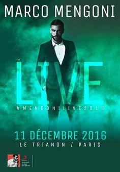 LE DIMANCHE 11/12/2016 À 20H00  -  LE TRIANON  -  PARIS 18