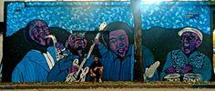 mural 12 mts x 4.00 mts. Homenaje a los amigos