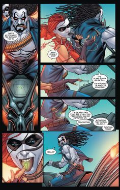 Harley Quinn Takes The Super Pill 1