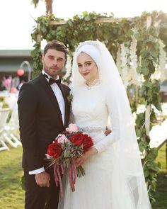 Lebanese Wedding Dress, Muslim Wedding Gown, Hijabi Wedding, Muslimah Wedding Dress, Bridal Hijab, Muslim Wedding Dresses, Hijab Bride, Muslim Brides, Bridal Dresses