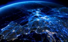 Watch one day of air traffic in Europe in a single mind-boggling video - Getaway Magazine