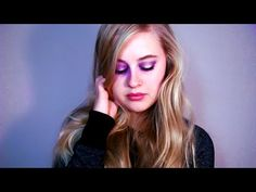 Soft and Sophisticated Purple and Rose Gold Makeup Tutorial - YouTube