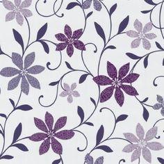 Wish Tapeten 05619-40 0561940 Tapete Blumen lila weiß: Amazon.de: Baumarkt