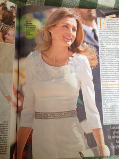 Like the white dress of Letizia!