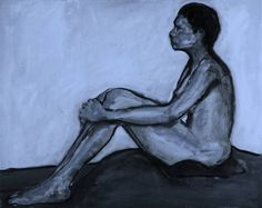 Leon Sarantos - Blue Nude