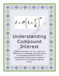 math worksheet : 1000 images about percents on pinterest  sales tax math and  : Compound Interest Math Worksheet
