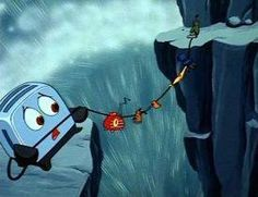 What a brave little toaster something for childhood memories Cartoon Movies, Movie Characters, Disney Movies, Disney Stuff, Disney Animation, Animation Film, 90s Childhood, Childhood Memories, Brave Little Toaster