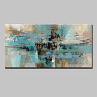 Pintados+à+mão+Abstrato+Horizontal,Abstracto+Modern+1+Painel+Tela+Pintura+a+Óleo+For+Decoração+para+casa+–+EUR+€+91.80