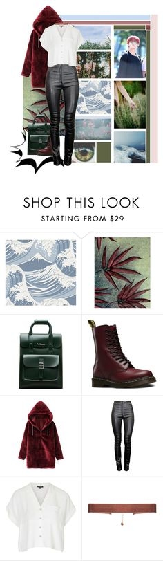 """""""If I Rule The World / O! R U L8 2? // BTS"""" by lene-lebt-lustig ❤ liked on Polyvore featuring Cole & Son, NOVICA, Dr. Martens, Nicole Miller, WithChic, Thierry Mugler, Topshop, Tranloev, music and kpop"""