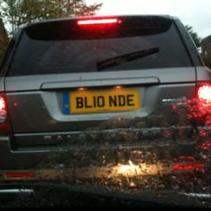 Great number plate