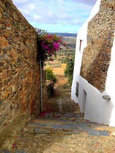 Monsaraz, Alentejo, Portugal Places Around The World, Around The Worlds, Portugal, Monsaraz, Sea Activities, Sunny Beach, Atlantic Ocean, Portuguese, Beautiful Landscapes