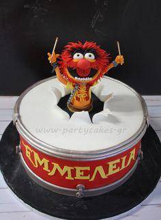 Animal Cake -The Muppets! - Cake by Samantha Potter