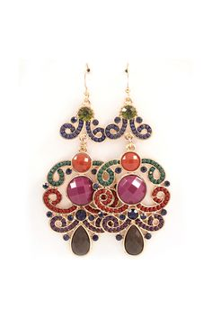 Victoria Chandelier Earrings