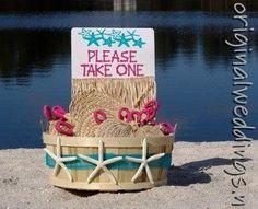 Beach wedding idea wedding