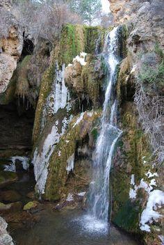 Cascada de Calomarde o del molino viejo. Teruel. Aragón. Spain.