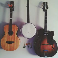 guitar, banjo, my instruments, music