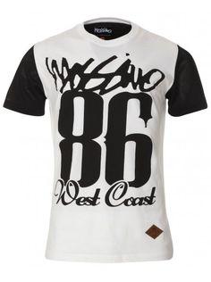 White West Coast T-Shirt, £16