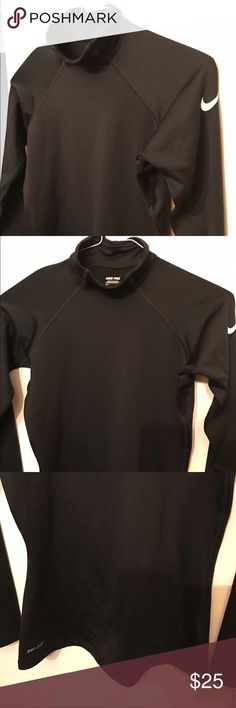 Nike pro drop-fit running shirt in excellent cond Dri-fit running top by Nike.  Excellent condition no rips tears or stains Nike Tops Sweatshirts & Hoodies