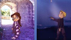 Ophélie et Thorn enfants (la Passe-Miroir) World Of Fantasy, Girl Reading, Heart Melting, Lectures, My Precious, Book Characters, Sailor Moon, Ideas Para, Photos