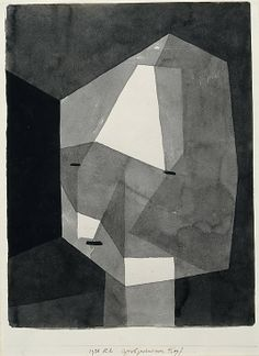// Paul Klee. Rough-Cut Head. 1935