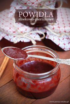 Powidła śliwkowo-piernikowe (Plum and Ginger Bread Jam - recipe in Polish)