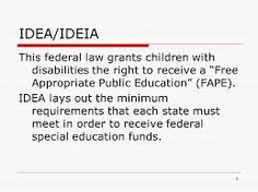 free and appropriate education definition - Google Search