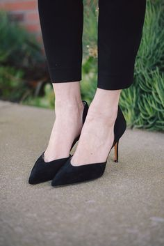 black d'orsay heels from marc fisher M Loves M